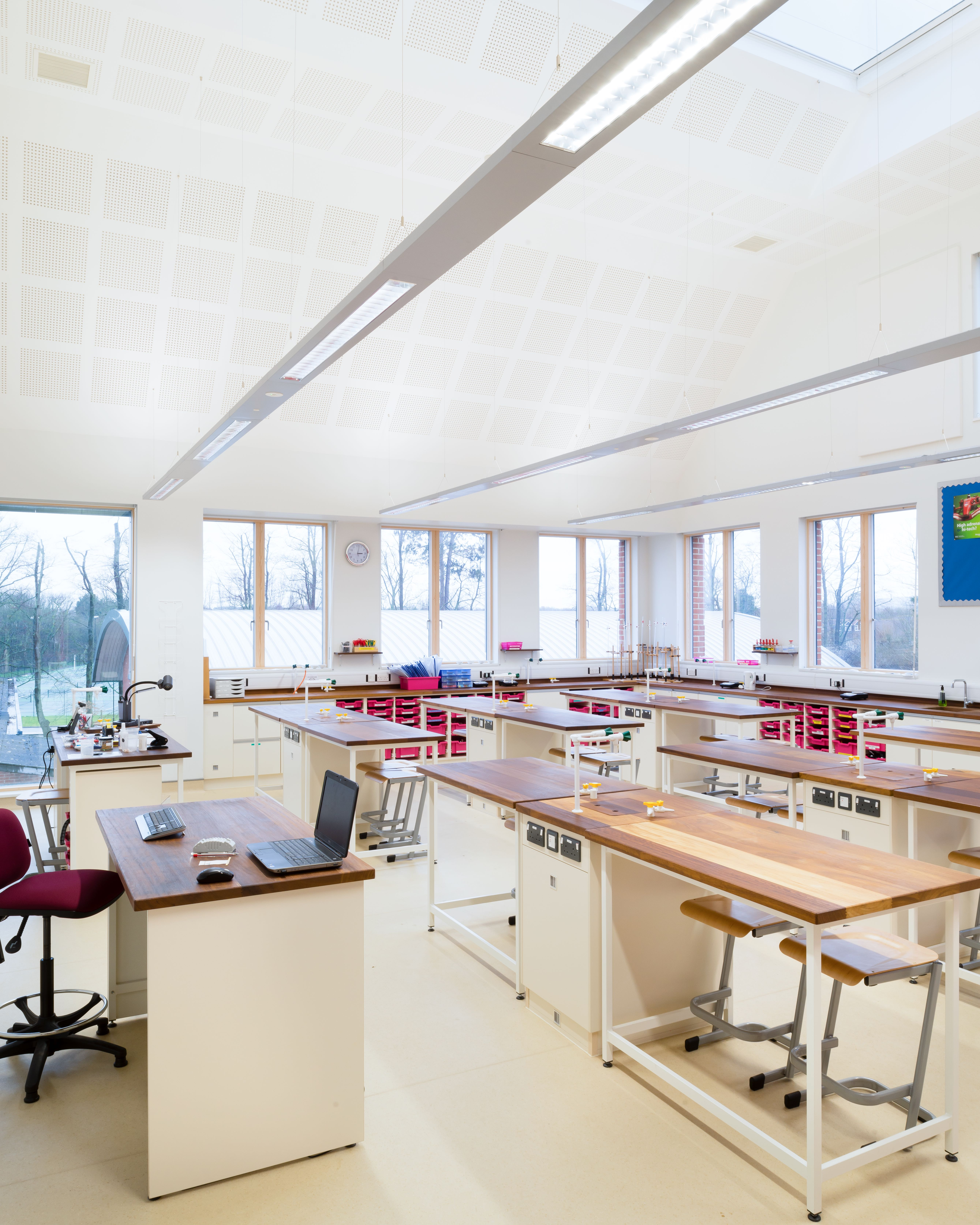 B4E features St Helen & St Katharine's newly completed Science Centre