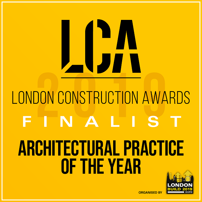 We're finalists for Architectural Practice of the Year!