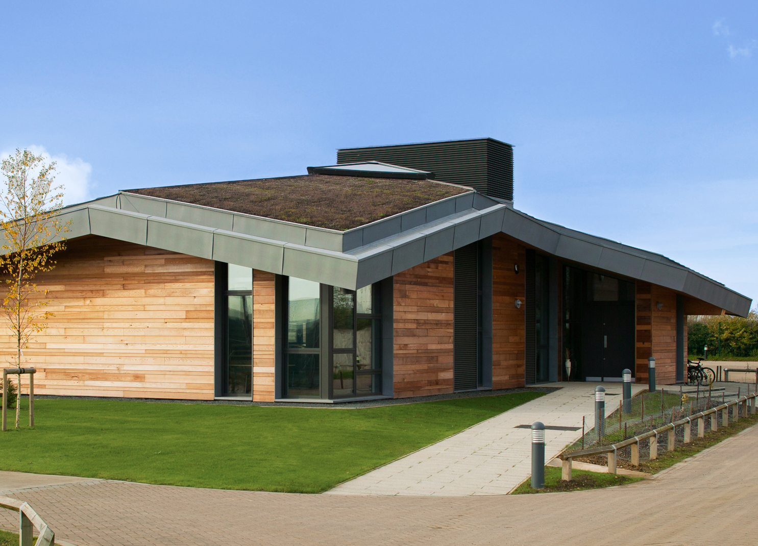NIAB Sophi Taylor Visitor Centre Shortlisted for the BREEAM Awards
