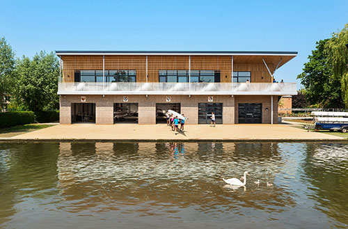 Combined Colleges Boathouse Wins RIBA East Award 2017