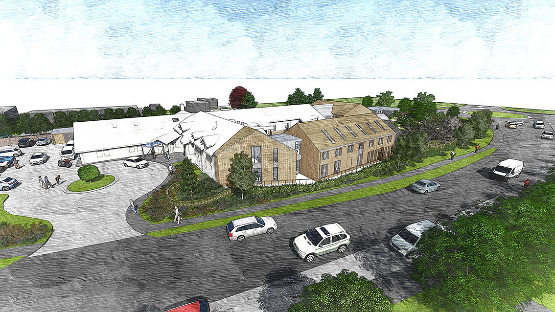 Ellenor Hospice submitted for planning