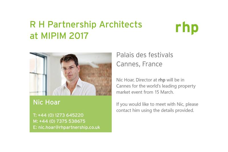 R H Partnership at MIPIM 2017