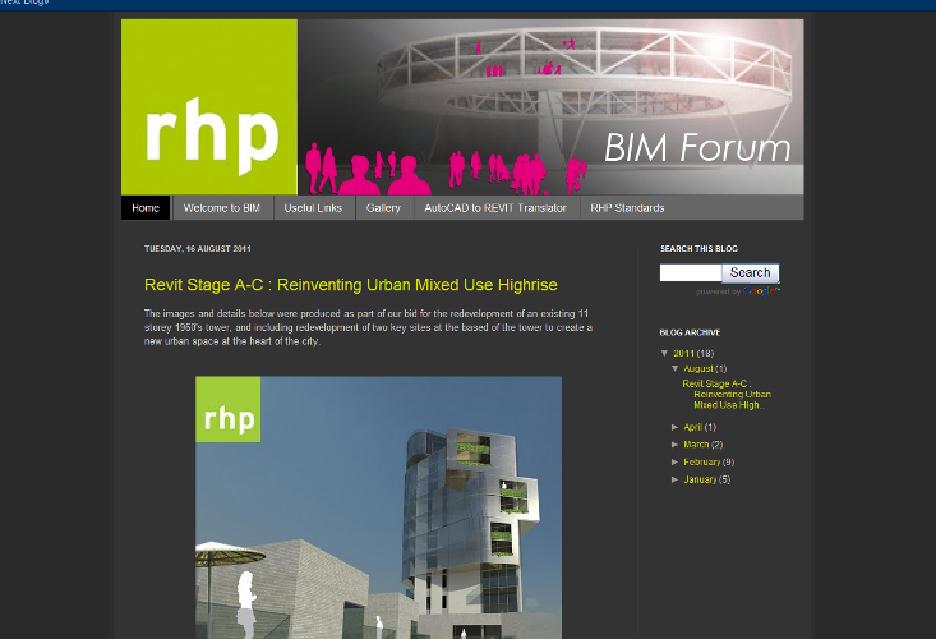 rhp BIM Update