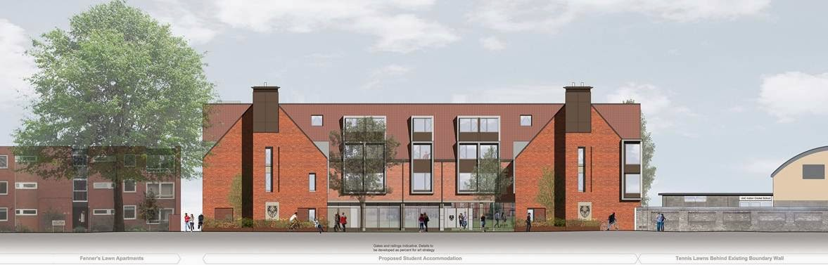 Planning submitted for Gresham Road Graduate Accommodation, Cambridge