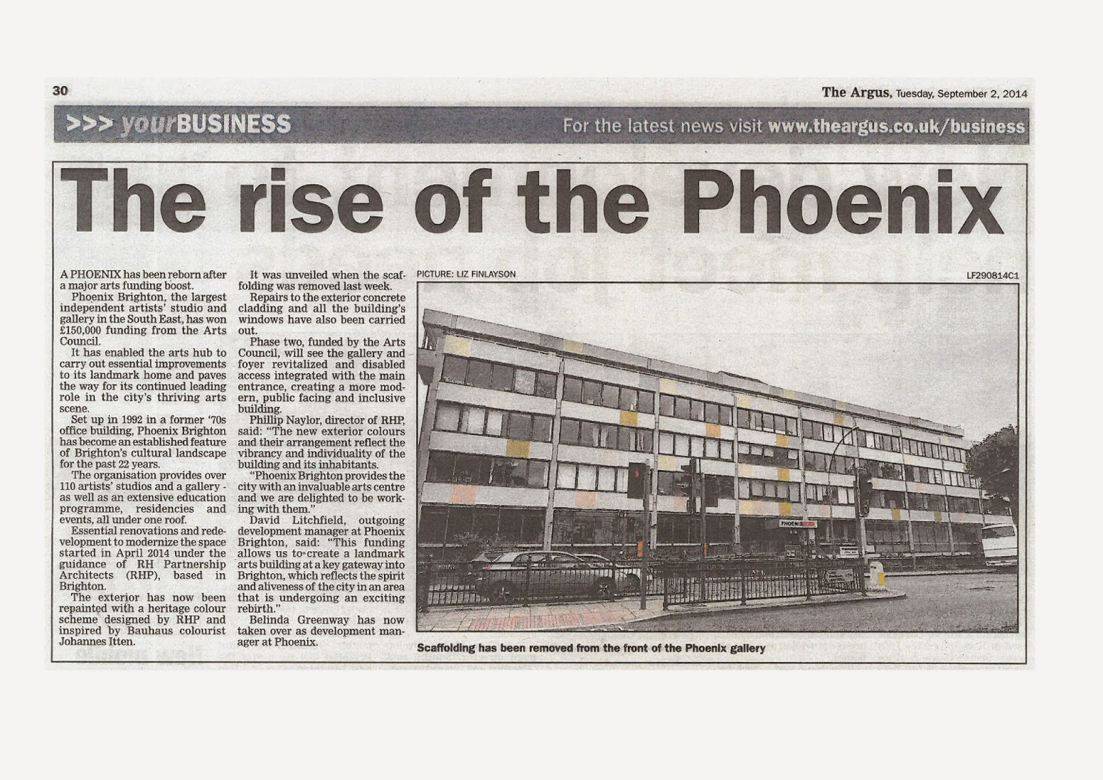 Phoenix Brighton reborn with Arts Council funding