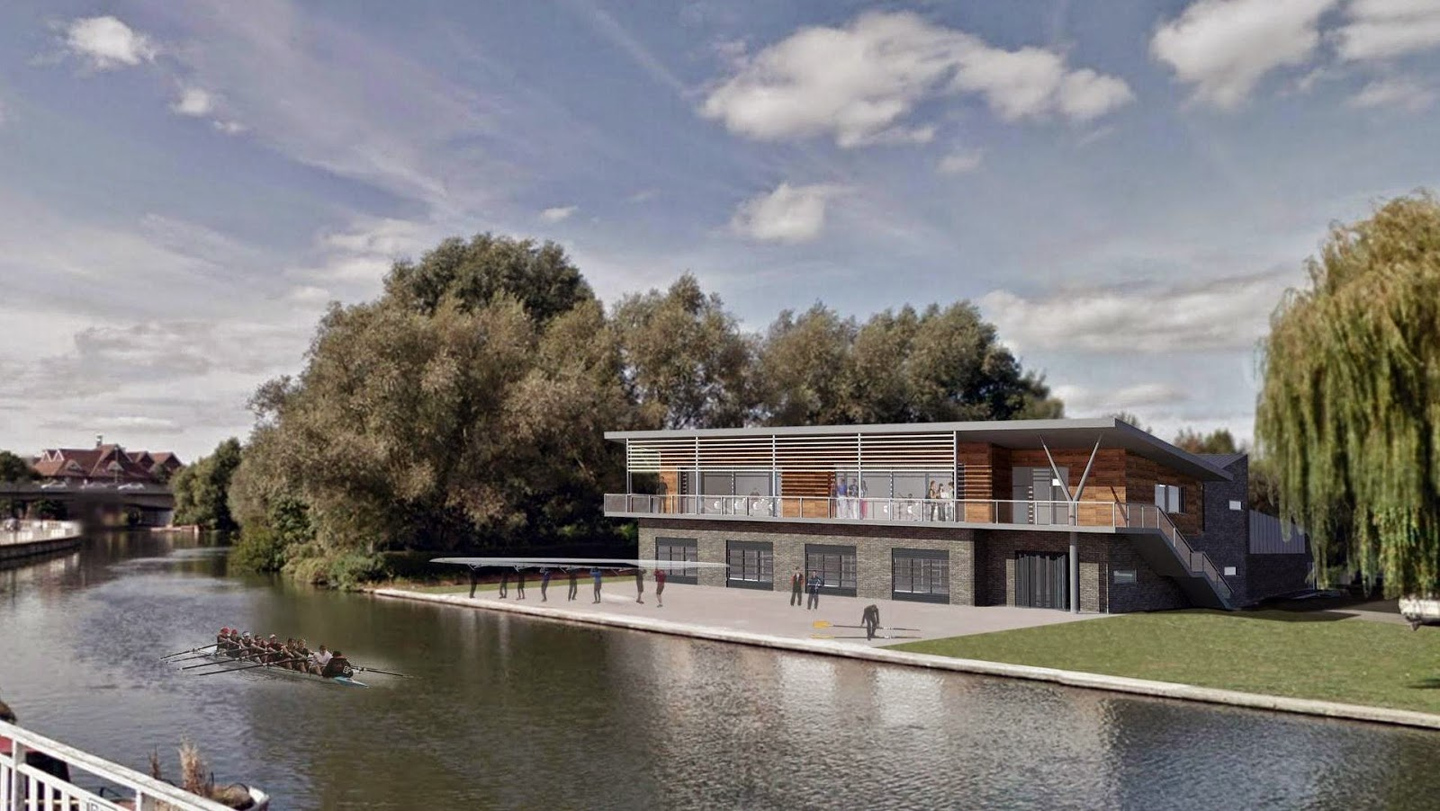 Combined Colleges Boathouse gets the go ahead