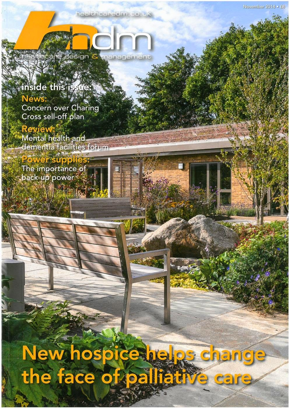 Healthcare Design & Management Features St Wilfrid's Hospice