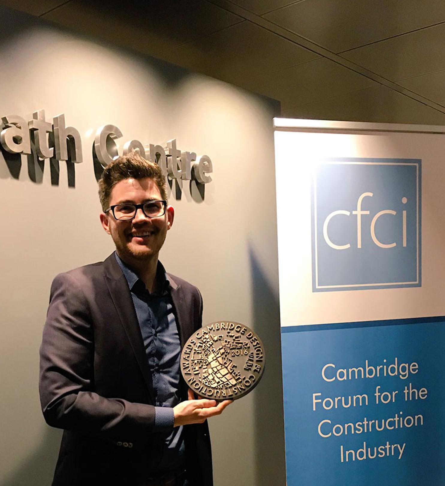 Tom Foggin Wins CFCI Award