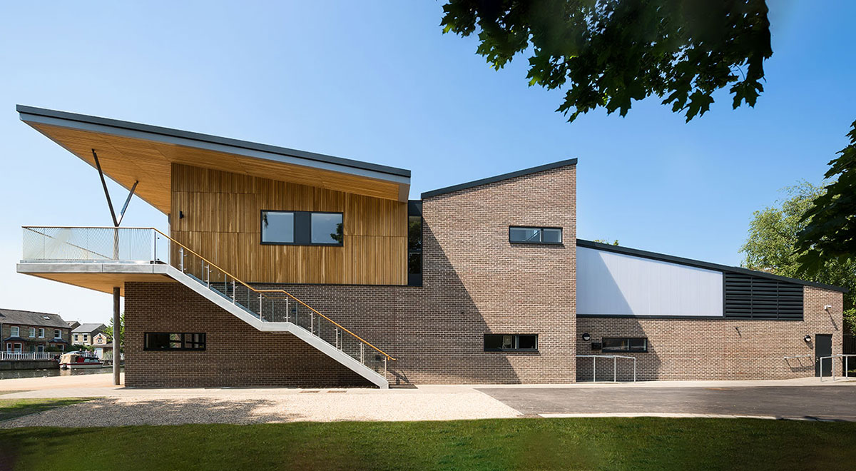 Combined College Boathouse - R H Partnership Architects