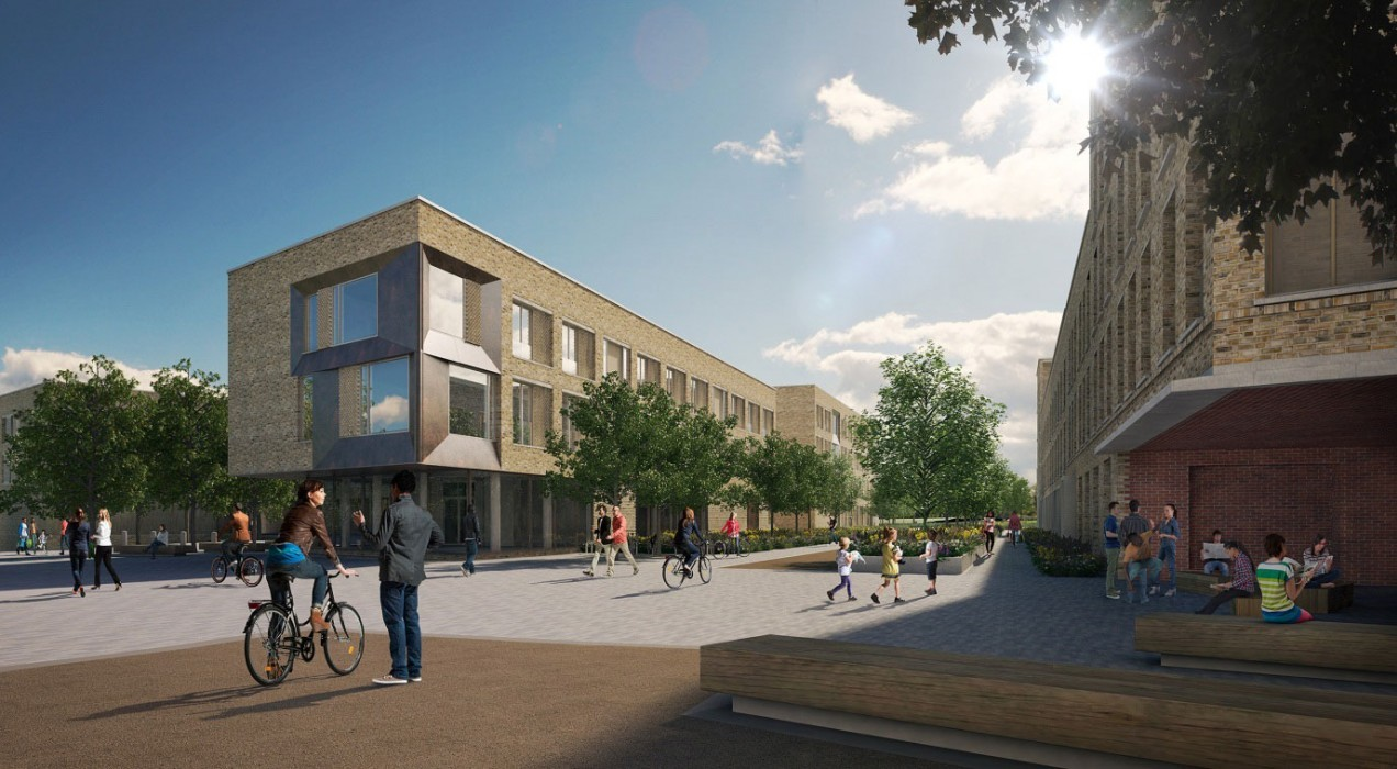 North West Cambridge Post-Graduate Housing – Architects rhp