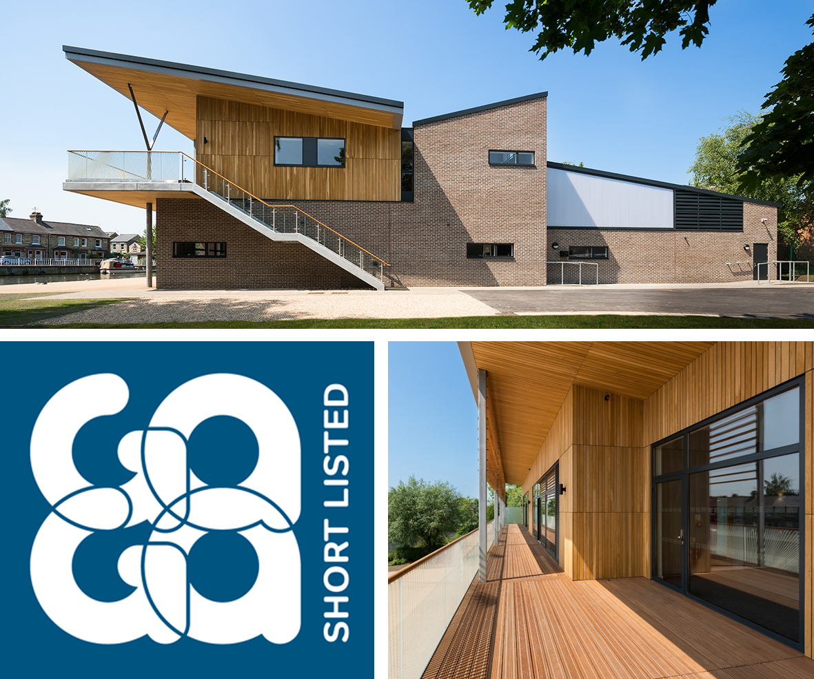Boathouse shortlisted for GAGA Construction Award