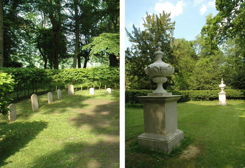 The Dog cemetery monuments and Duke's Square memorials conserved and repaired 2008.