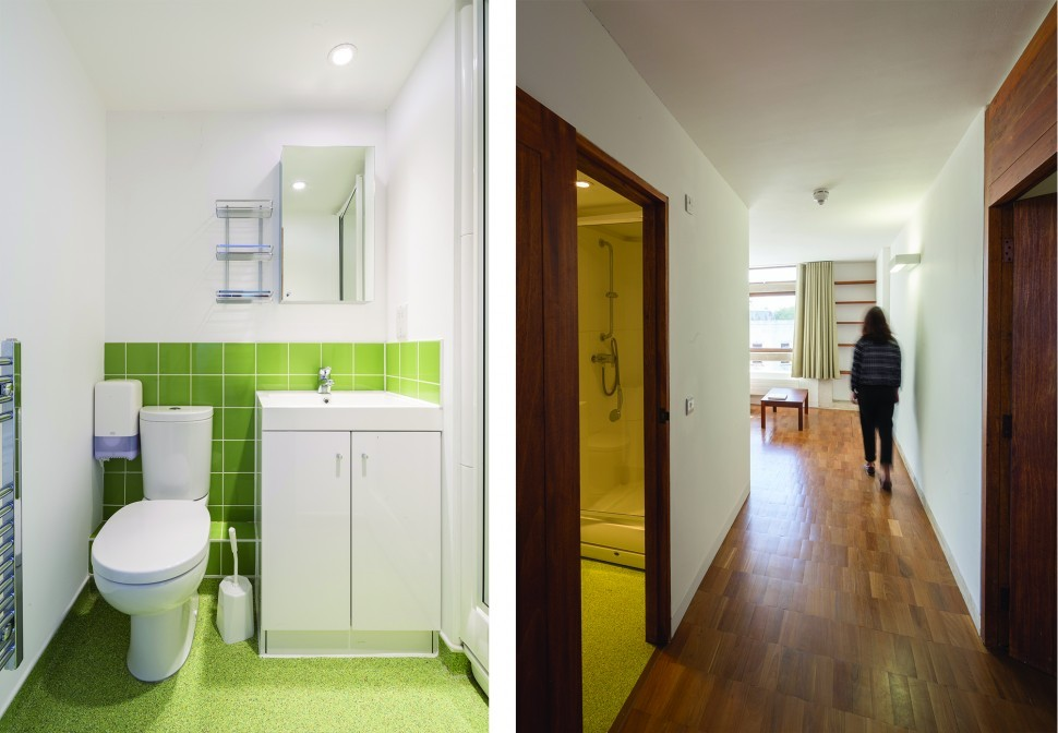 Refurbished en-suite rooms
